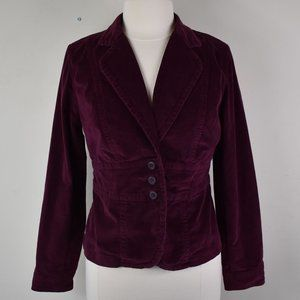 a.n.a. Size PM Corduroy Berry Color Blazer Jacket